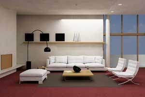 Arredare il salotto con spazi limitati