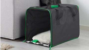 Borsone da viaggio Ikea per cani e gatti