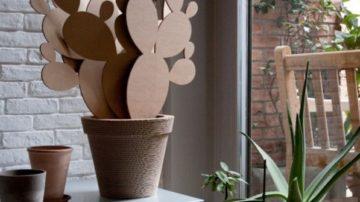 Arredamento sostenibile: il design in cartone riciclato