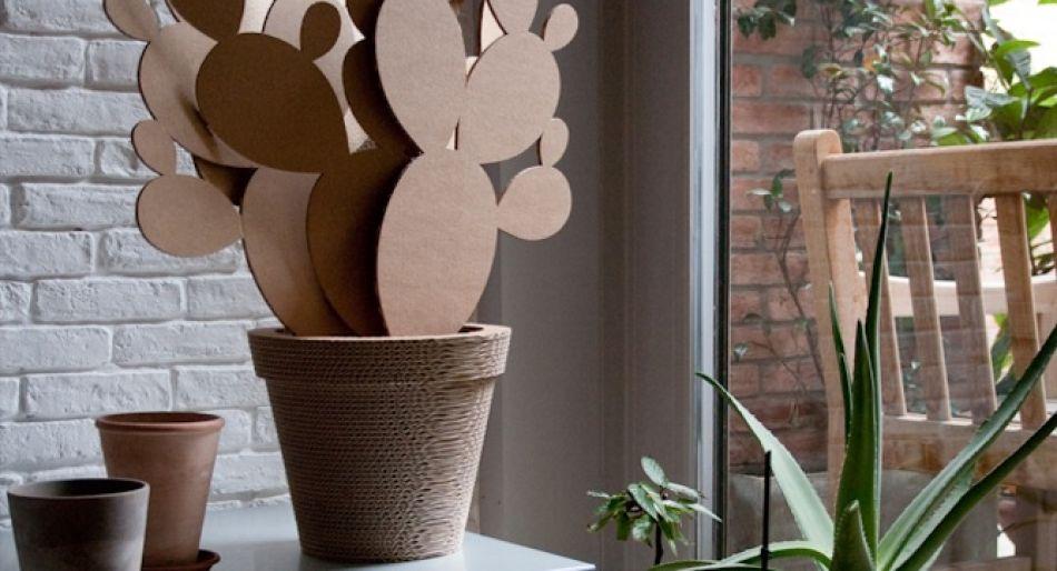 Arredamento sostenibile il design in cartone riciclato for Arredi di cartone