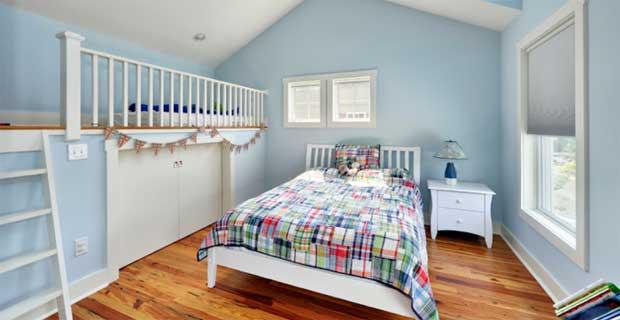 Piccoli accorgimenti per arredare le camerette per bambini - Camera da letto bambino ...