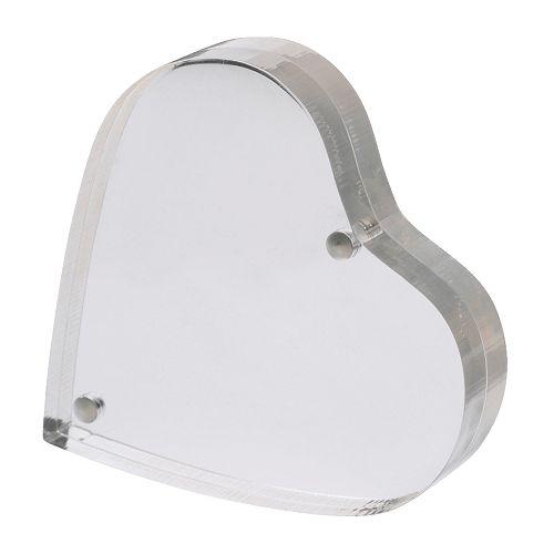 Portafotografie a forma di cuore - Finlir - Ikea