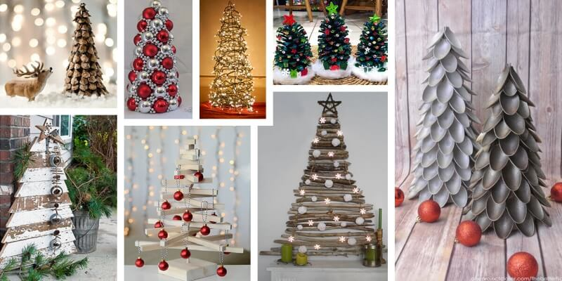 Alberi di Natale fai da te: i 7 più creativi, divertenti e facili da realizzare