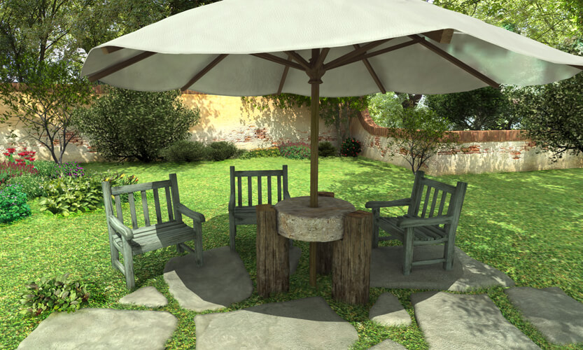 Arredo giardino il giardino come il nostro biglietto da for Idee per creare un giardino