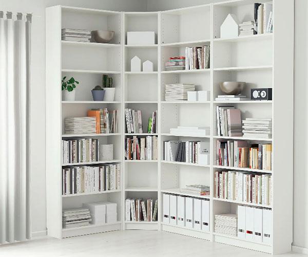 billy libreria ad angolo