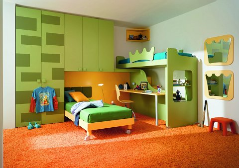Modificare camera da letto bambini - Camera da letto bambini ...