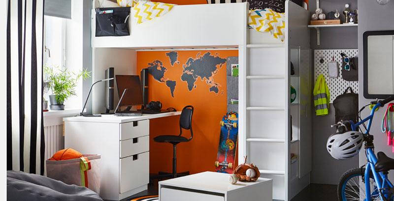 Cameretta Armadio Ponte Ikea.Camerette Ikea Per Bambini E Ragazzi Di Tutte Le Eta