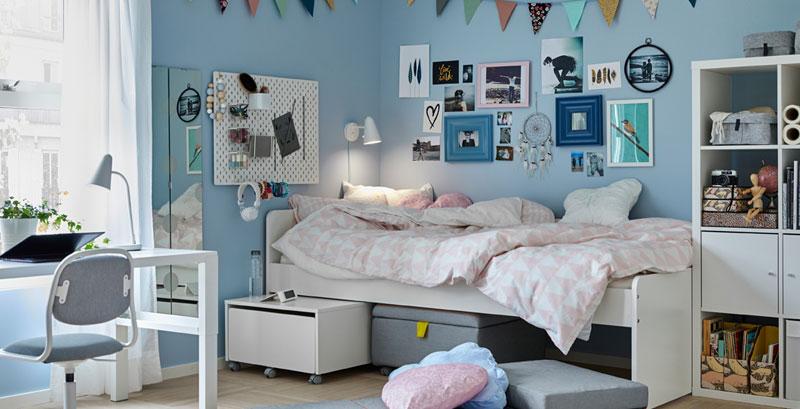 Letti A Castello Ikea Catalogo.Camerette Ikea Per Bambini E Ragazzi Di Tutte Le Eta