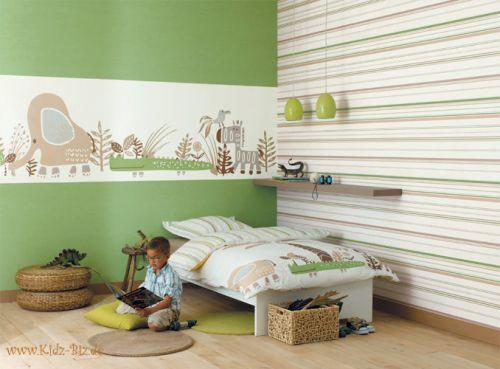 Carta da parati camerette bambini arredami casa - Papier peint pour chambre bebe ...