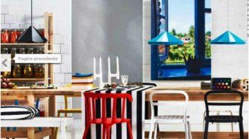 Greenspace e forza di colori, le novità di catalogo Ikea 2014