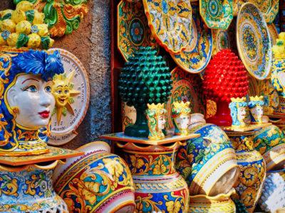 Le più famose ceramiche artistiche in Italia