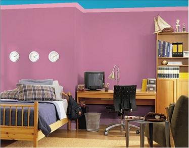 Colora le pareti di casa tua for Disegni della casa della cabina di ceppo
