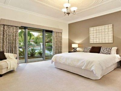 pareti camera da letto classica