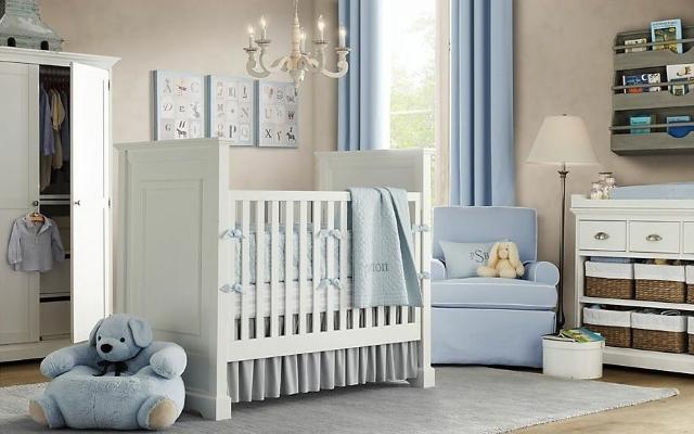 come arredare la camera del neonato