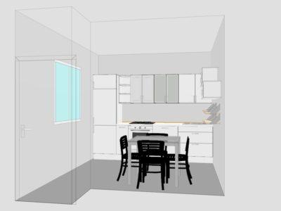 Arredare cucina: come recuperare spazi in piccole stanze
