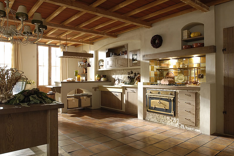 La cucina in muratura - Arredami casa