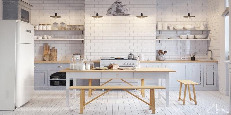 Cucina stile nordico scandinavo: tendenze per l'autunno 2020