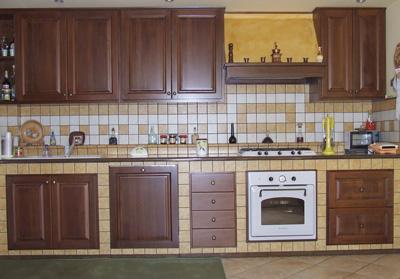 La cucina in muratura arredami casa - Mobili per cucine in muratura fai da te ...