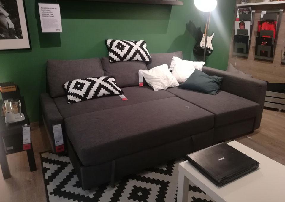 Divano letto matrimoniale Ikea