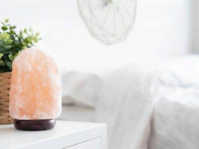 Lampade di sale, un aiuto contro l'ansia e la depressione