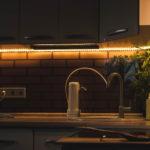 Luci e strisce di led per illuminazione funzionale della casa