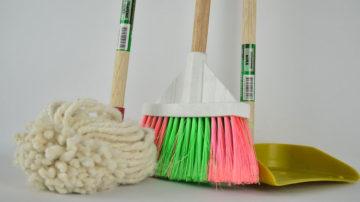 ordinare e pulire casa