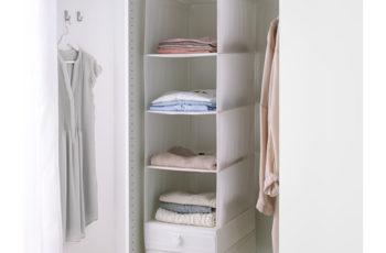 Organizzazione dell'armadio