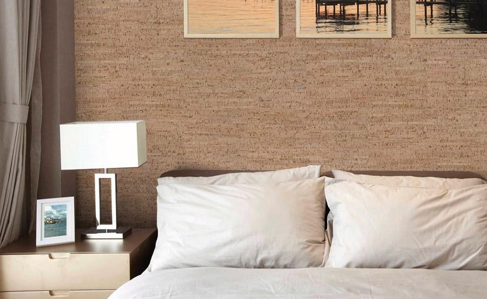 I pannelli in sughero per pareti effetto legno