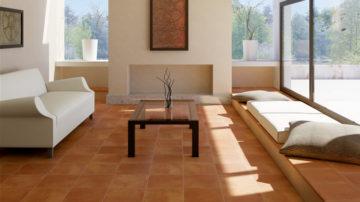 pavimento del soggiorno