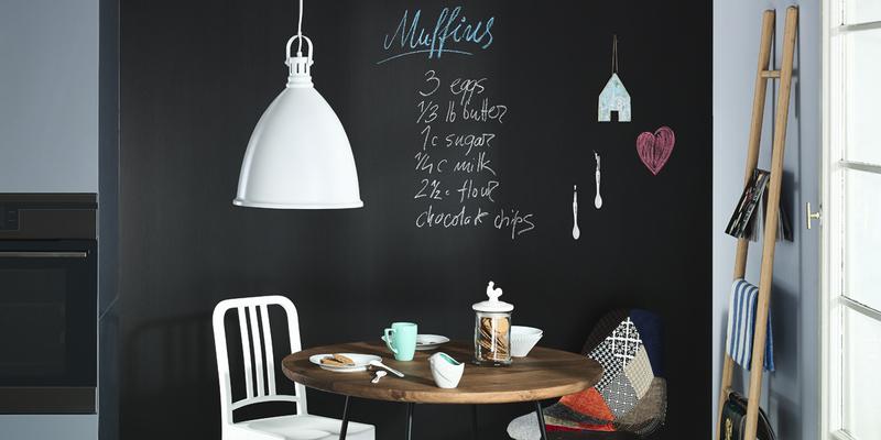 You are currently viewing Pittura lavagna: come utilizzarla su un'intera parete o in cucina