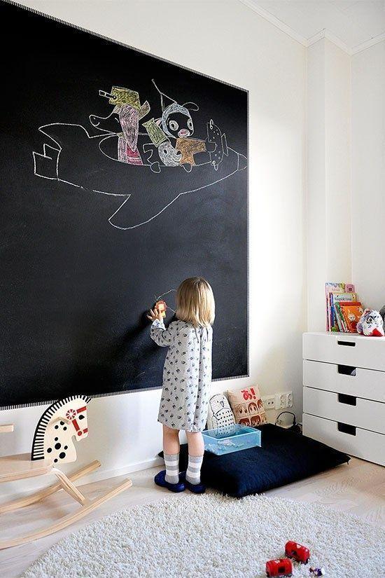 Pittura lavagna camera bambini