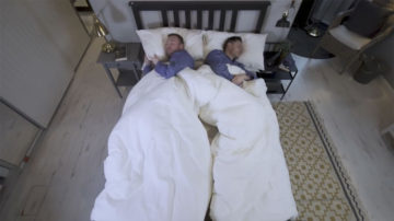 Piumino Ikea per coppie