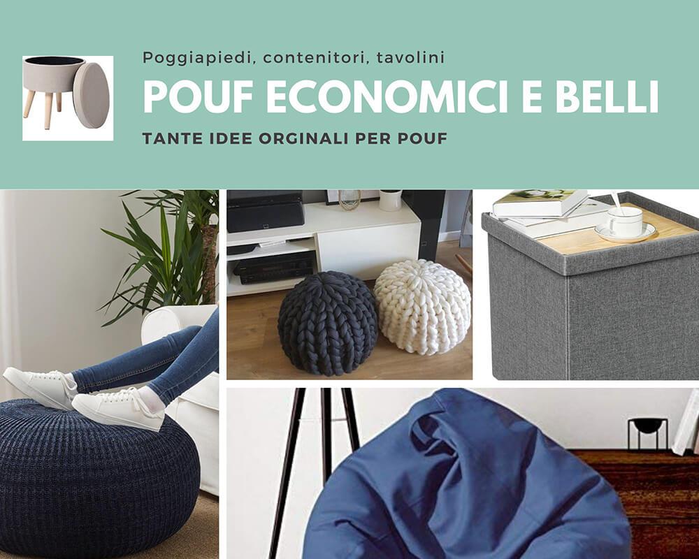 Pouf economici per tutta la casa #8 idee originali