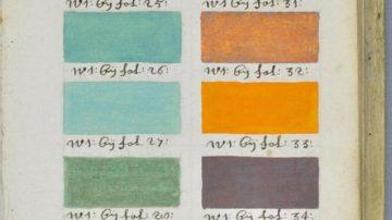 """Pantone:  libro olandese del XVII secolo primo """"Pantone"""" della storia"""