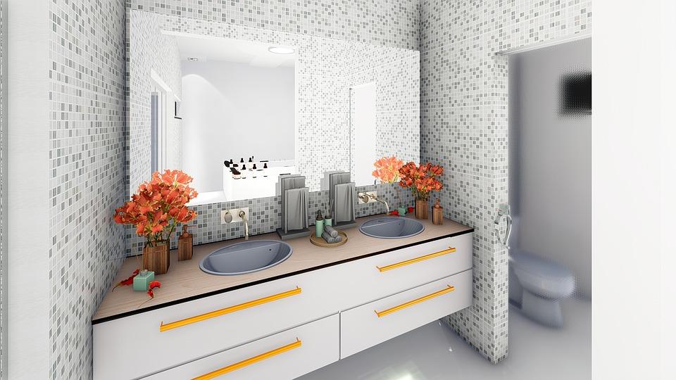 sanitari lavandino bagno doppio lavabo