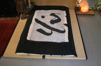 stanza da letto giapponese
