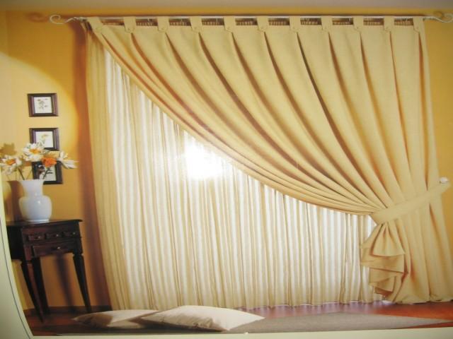 Tende da interni il tocco glam che non pu mancare for Tende per finestre da interno