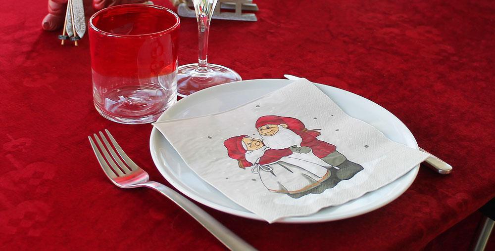 Tovaglia per la tavola di Natale