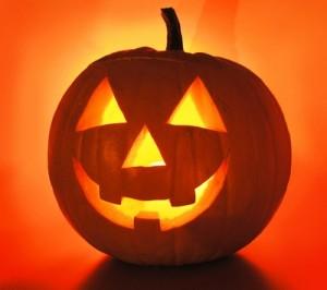 Zucca Halloween per decorare la casa